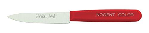 NOGENT 02742T Couteau d'office 9 cms, Rouge