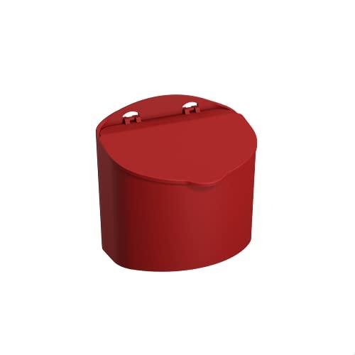 Saleiro, Coza, 10843/0465, Vermelho Bold