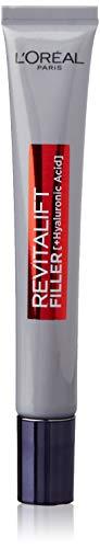 LOréal Paris Revitalift Filler Contorno de Ojos Revitalizante, Con Ácido Hialurónico Puro, 15 ml