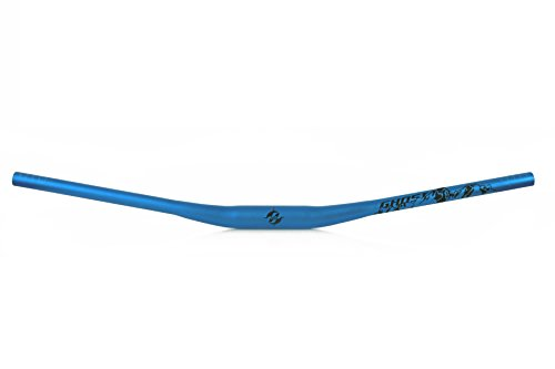 Ghost Bikes brazo Rizer–Handlebar Light hbrb 22Rize 10mm Back 9° Length 780mm bicicleta manillar Azul/Negro