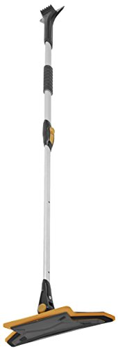 Best Deals! True Temper ABTT5212 Telescoping Scratch-Free Snow Brush with End Scraper and Cushioned ...