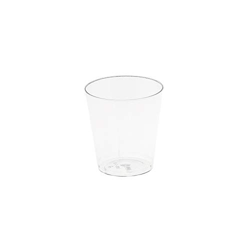 MAQA 80 pz Bicchierini shot da liquore, coppetta finger food 30 ml, Ciotola trasparente per aperitivo
