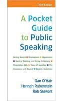 Pocket Guide to Public Speaking (3rd, 10) by O'Hair, Dan / Rubenstein, Hannah / Stewart, Rob [Paperback (2009)] Nebraska