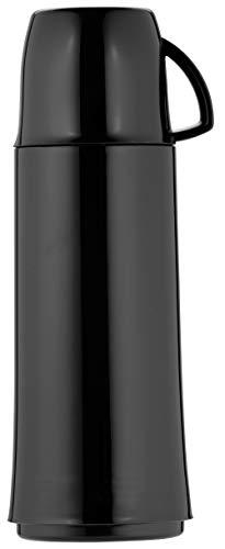 Helios Elegance Isolierflasche, Kunststoff, schwarz, 0,5 Liter
