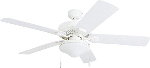 Honeywell Ceiling Fans 50513-01 Belmar Outdoor LED Ceiling Fan,...