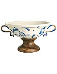 Oval Compote with Handles By Grasslands Road