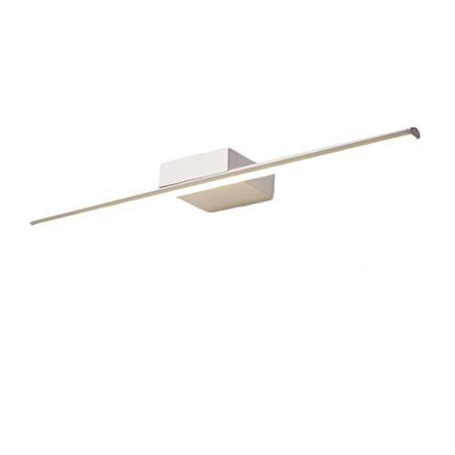 CWT Luz espejo moderna y sencilla Lámpara de espejo impermeable para baño Lámpara de maquillaje antivaho y antioxidante LED Nordic Lámpara de baño (color: A)