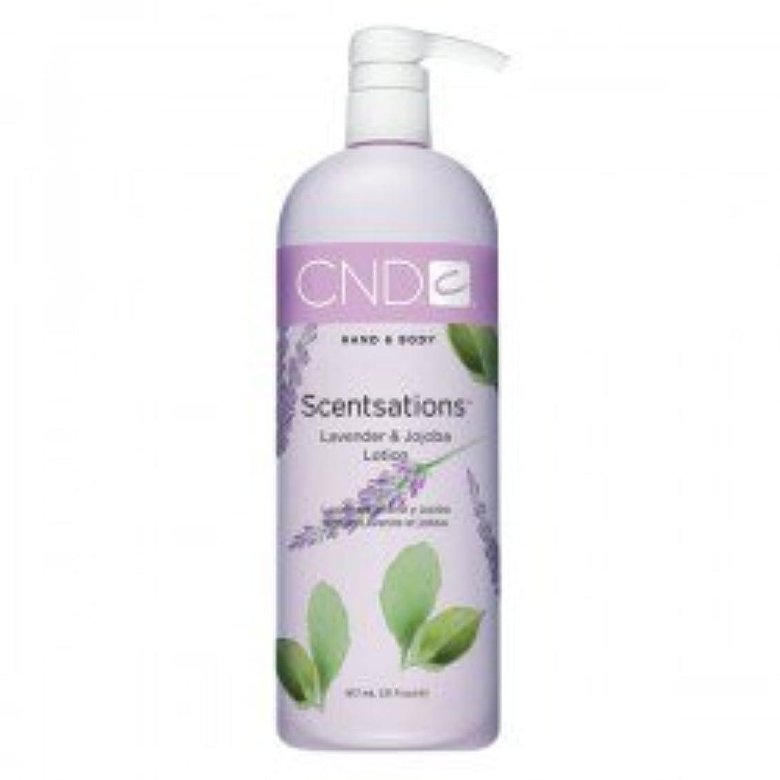 名声リングバック慣性CND Scentsations Lavender & Jojoba Hand & Body Lotion - 33oz by Creative Nail [並行輸入品]