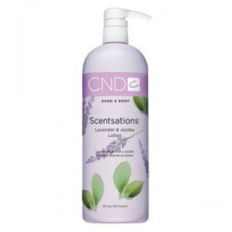 バーマドアリーナ危機CND Scentsations Lavender & Jojoba Hand & Body Lotion - 33oz by Creative Nail [並行輸入品]