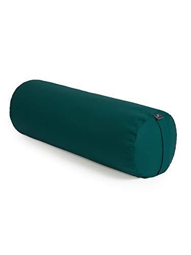 Yoga Studio YS/EU/Round/Ligh Teal Bolsters Yoga (Redondos, Ligeros), Color Verde, Unisex, Azul Verdoso, Normal