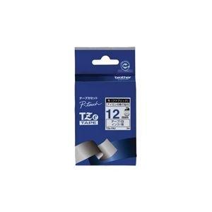 (業務用3セット)ブラザー工業 布テープ TZe-FA3白に青文字 12mm ×3セット 生活用品 インテリア 雑貨 文具 オフィス用品 ラベルシール プリンタ [並行輸入品]