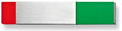 Frei - Besetzt Anzeige/Schieber (Kleber) inkl. Schieber zur Kennzeichnung (rot = besetzt, grün = frei) zum Kleben 15 x 3 x 0,6 cm