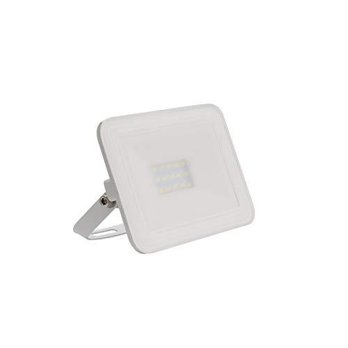 LEDKIA LIGHTING Foco Proyector LED 10W 120lm/W Slim Cristal Blanco Blanco Frío 6000K - 6500K