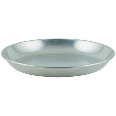 Winco ASFT-12, 75-Ounce Brushed Aluminum Round Serving Seafood Platter Tray