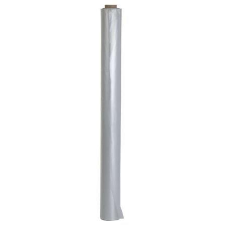 Baufolie Typ 100 2m x 50m (100m²) transparent - Schutzfolie Abdeckfolie Estrichfolie Bauplane