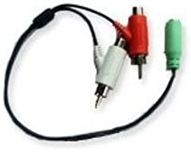 Turtle Beach X1 Stereo Audio Splitter Cable (TB450-2056-01) Official Replacement Part NEW [video game]