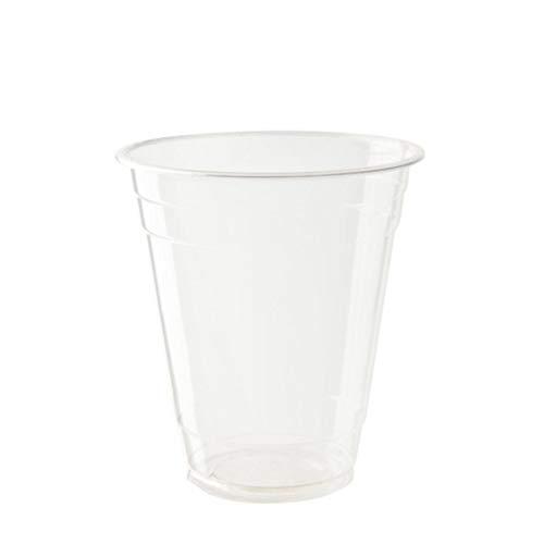 Bionatic Spain Vaso de plastico organico PLA para Cerveza y refrescos,