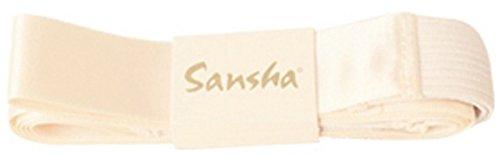 Sansha Spitzenschuhbänder ohne Gummieinsatz