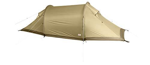 Fjallraven Unisex-Adult Abisko Lite 2 Tunnel Tent, Sand, OneSize
