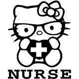 Nerdy HK Kitty Caring Nurse - Vinyl 6' Tall...