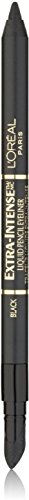 L'Oreal Extra-Intense Liquid Pencil Eyeliner, Black [798] 0.03 oz (Pack of 3)