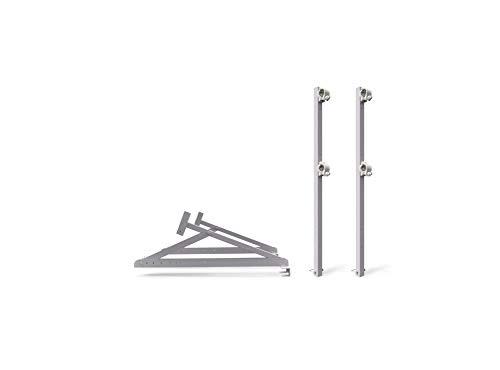 ALTEC RoofersConsole - Alu Dachkonsole, verstellbar   Made in Germany   Dachständer Dachgerüst Dachdeckergerüst Arbeitsbühne Dachdeckerstuhl Dachbock (Set 02)