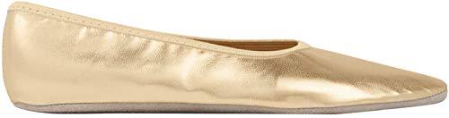 Rumpf Gymnastikschuhe Soraya Gymnastik Schläppchen Ballett Schuhe Fitness gold40