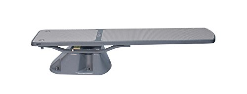 S.R.Smith 68-207-57820G Salt Pool Jump Diving Board And Stand, Gray, 8'