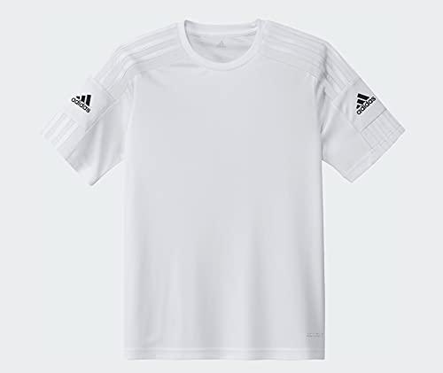 adidas Boys Jersey (Short Sleeve) Squad 21 JSY Y, White/White/Black, GN5740, 176 EU