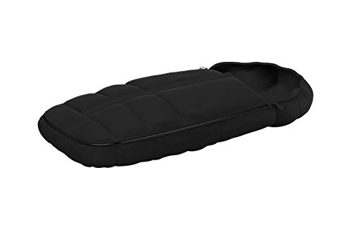 Thule Footmuff black, Isolierter Premium-Fußsack, verstellbare Kapuze