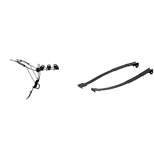 Thule Clipon 3 9103, Portabicicletas Colgante, Fácil De Usar, Diseñado para Vehículos Familiares Y Cinco Puertas (para 3 Bicicletas). + Th9115 9115 Adaptador Clipon