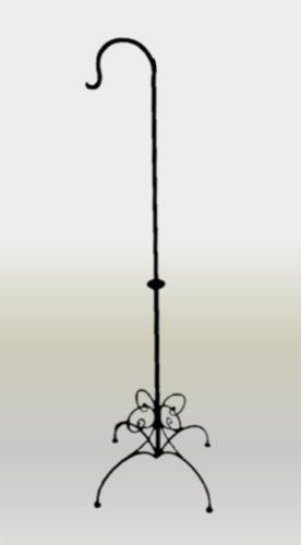 Black Friday - Lanterna in ferro battuto nero metallo stile marocchino, motivo: farfalle, 25 x 150 cm