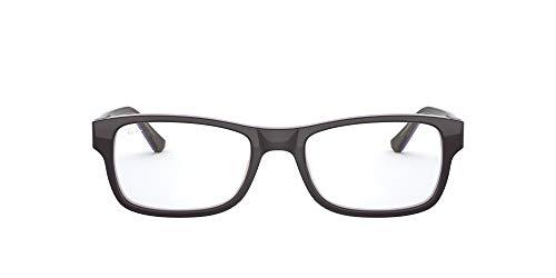 Ray-Ban 0RX5268 Monturas de gafas, Trasp Brown On Violet, 52 Unisex