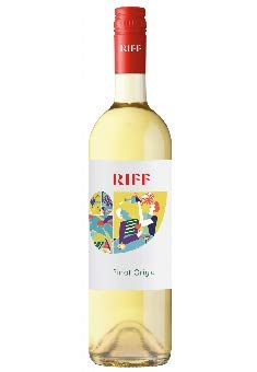 6 x Riff Terra Alpina Pinot Grigio IGT tr. 2019 BIO (IT-BIO-013) im Vorteilspack Tenutae Lageder, trockener Weisswein aus Südtirol