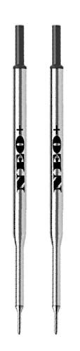 NEO+ Juego de 2 recargas de bolígrafo compatibles con PaperMate (TINTA NEGRO)