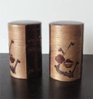 japanese wood tea canister