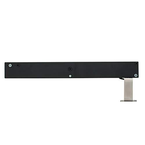 INTERSTEEL - Softclose Schiebetür Edelstahl gebürstet - Schließverzögerung für Schiebetüren, Innentüren und Wandschränke