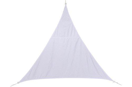 HESPERIDE Toldo Vela Parasol Triangular 2 x 2 x 2 m, en Tela Impermeable - Color Blanco