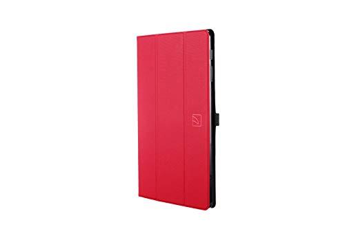 Tucano Gala Bookcase Tablet Tasche, modellspezifisch Samsung Galaxy Tab A 10.1 (2019) Rot