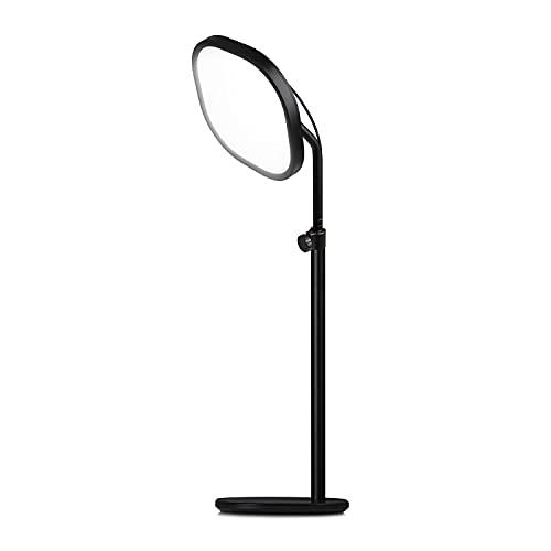Elgato Key Light Air Pannello LED Professionale con 1400 Lumen, Tecnologia di Diffusione a Più Strati, con Supporto App, Temperatura del Colore Regolabile per Mac/Windows/iPhone/Android, Nero