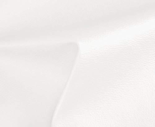 2 METROS de Polipiel para tapizar, manualidades, cojines o forrar objetos. Venta de polipiel por metros. Diseño Solar Color Blanco ancho 140cm