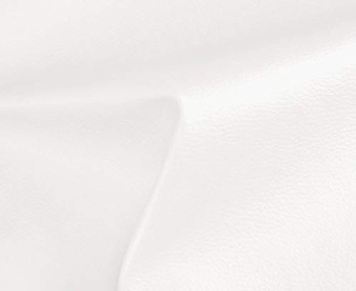 1 METRO de Polipiel para tapizar, manualidades, cojines o forrar objetos. Venta de polipiel por metros. Diseño Solar Color Blanco ancho 140cm
