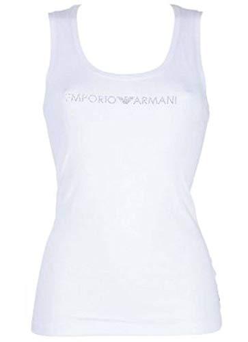 Emporio Armani Underwear Damen Tank/Camis T-Shirt, Bianco, M