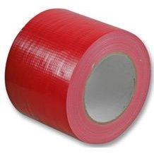 Cable-Tex - Cinta americana, resistente al agua, 100 mm x 50 m, color rojo