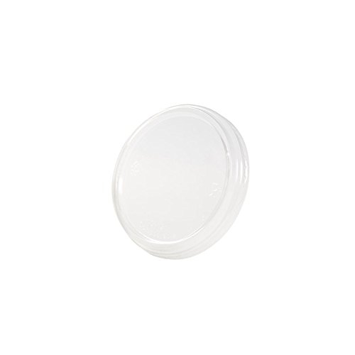 BIOZOYG 50x Tapa para Taza de plástico orgánico Tazas Gourmet 500ml I...