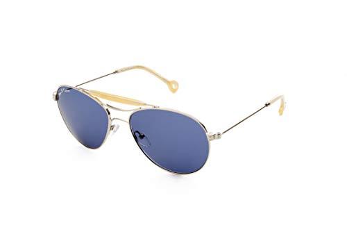 Hally & Son Deus DH501S03 - Gafas de paladio plateadas, 56 17 140, unisex, adulto