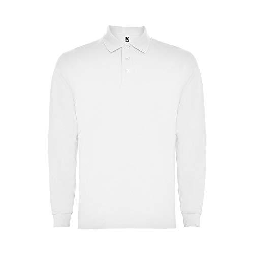 Polo bianca a maniche lunghe per bambini – Maglietta alla moda casual e sportiva traspirante, collo a costine, cappuccio e tre bottoni. bianco 11-12 Anni