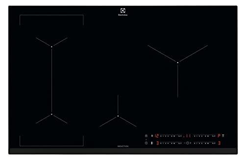 Electrolux LIL83443 Piano cottura ad induzione Bridge 80 cm, tecnologia Hob2Hood e funzione Bridge