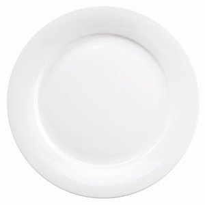 Churchill Art de Cuisine Menu - Platos con borde intermedio, 254 mm, 254 mm, 254 mm, 254 mm, color blanco