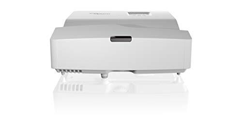 Optoma HD31UST DLP-Projektor (1080p, Kurzdistanz, 3400 Lumen, 28.000:1 Kontrast, 2xHDMI, MHL, VGA) Silber